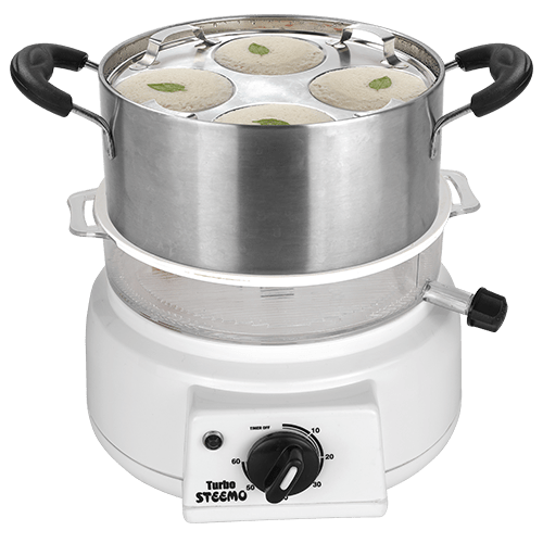 steemo steam cooker with idly attachment