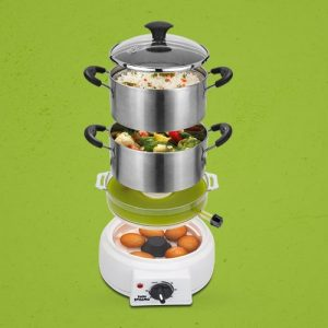 Stainless Steel Steam Cooker In Premium Quality