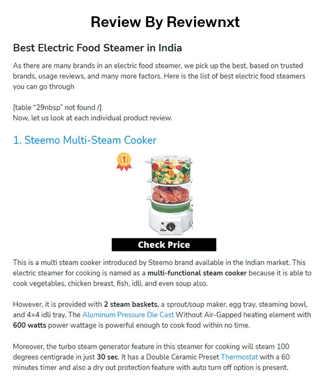 steemo in top 10 multi steam cooker by reviewnxt